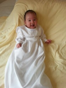 boys christening gown